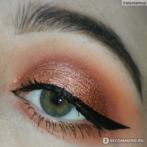Палетка теней для век   Huda Beauty Desert Dusk Eyeshadow Palette   фото