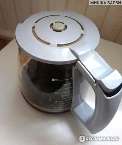 Кофеварка капельная BOSCH TKA3A034 (красная) фото