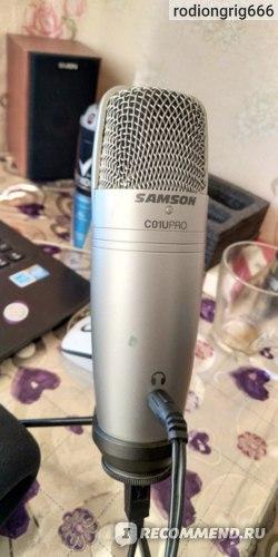 Микрофоны Samson C01U Pro фото