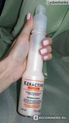 Восстанавливаюещее средство для волос Nutrapel PURE с Биомиметическим Кератином фото