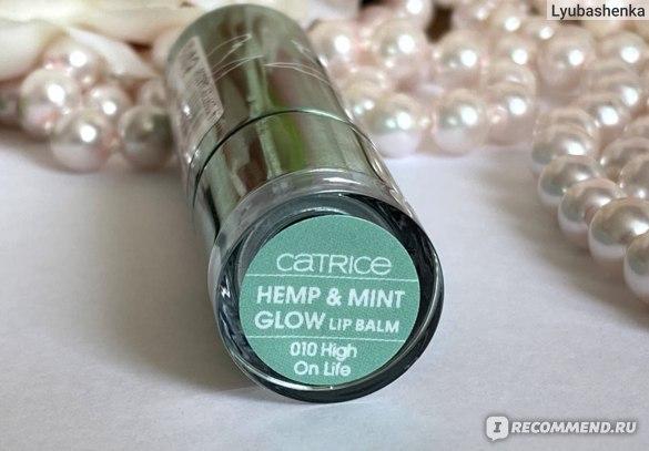 Бальзам для губ Catrice Hemp & Mint Glow Lip Balm фото
