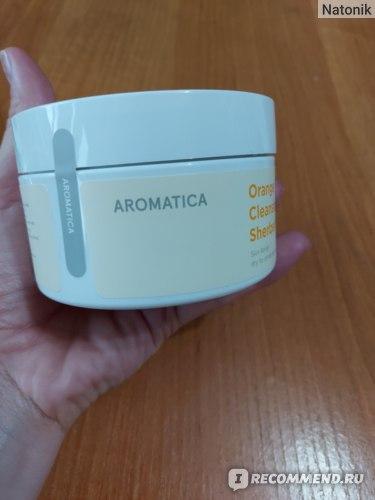 Гидрофильный бальзам Aromatica Orange Cleansing Sherbet фото