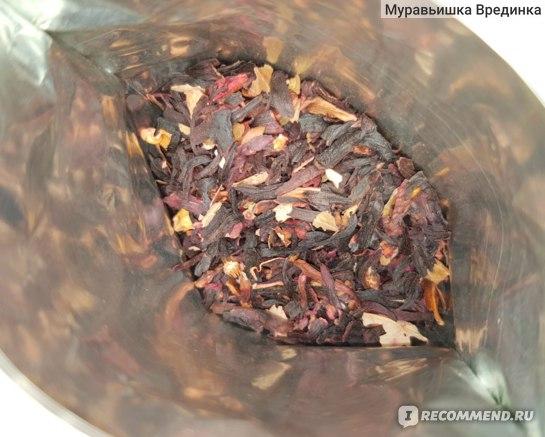 Чай Тамина Чай Гибискус натуральный листовой фото
