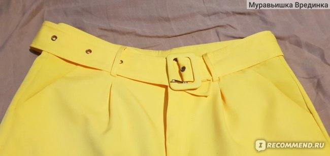 Брюки AliExpress Pantaloni Casual A Vita alta con cintura pantaloni dritti pantaloni delle signore di Affari Pantaloni Delle Donne фото