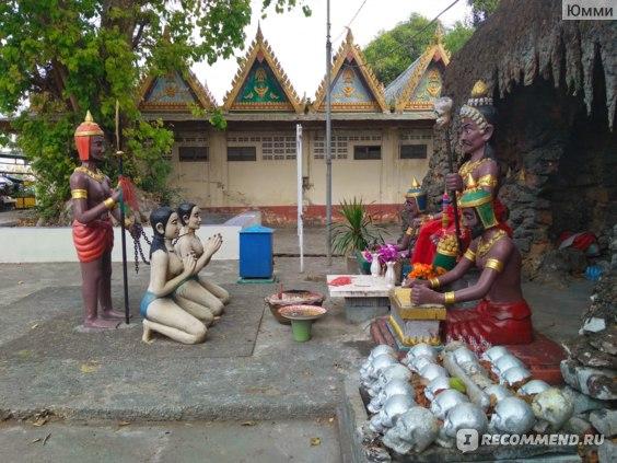 Храм Ада и Рая. Таиланд. фото