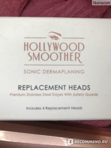 Ультразвуковой аппарат для дермапланинга в домашних условиях Hollywood Browzer Hollywood Smoother  фото
