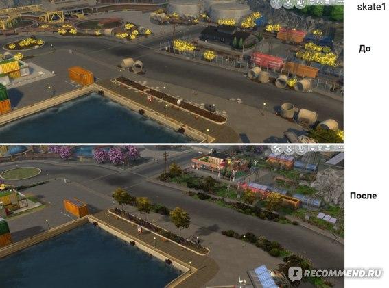 Порт-Промис: До/После