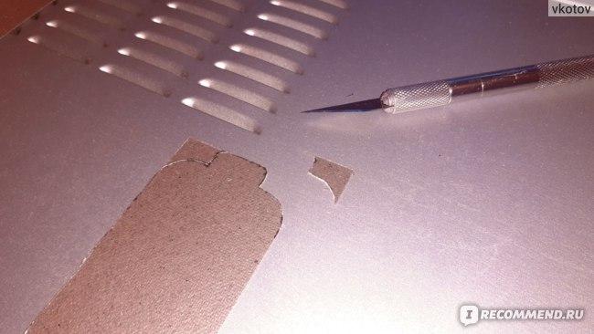 Слюда для микроволновой печи Yosoo AE-HCDM140 — самые трудные места можно резать скальпелем или канцелярским ножом