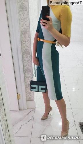 Платье Elisabetta Franchi AM10M87E2 фото
