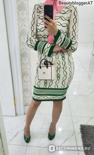 Платье трансформер Elisabetta Franchi AB19501E2 фото
