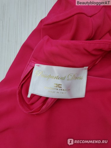Платье Elisabetta Franchi AB95396E2 фото