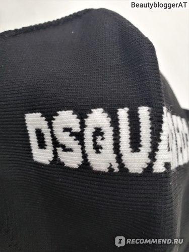 Маска DSQUARED2 защитная многоразовая фото