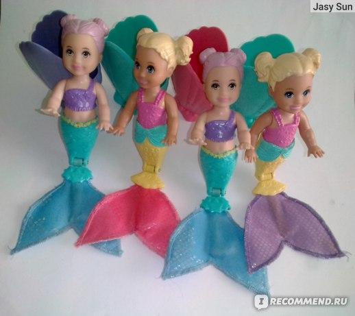Mattel Кукла Barbie Русалочка-загадка малая в непрозрачной упаковке (Сюрприз) GHR66 фото