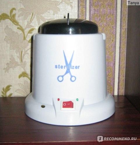 Стерилизатор для маникюрных инструментов Lidan шариковый (кварцевый) фото