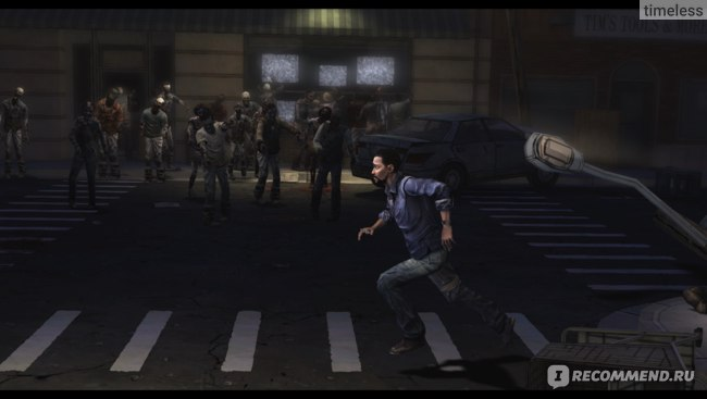 Игра The Walking Dead фото