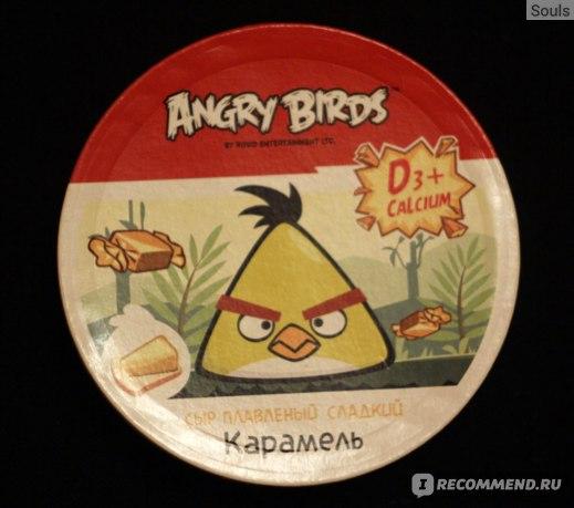Плавленый сыр Ястро Angry Birds фото