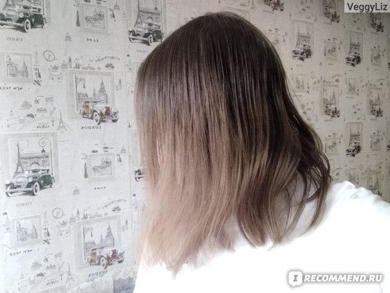 Так выглядели волосы на 2-й день после мытья. После следующего применения они выглядели, как солома