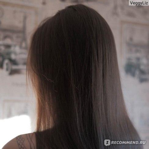 Так волосы выглядят после мытья шампунем, которым я пользуюсь сейчас - Organic Coconut от Planeta Organica (фото для примера)