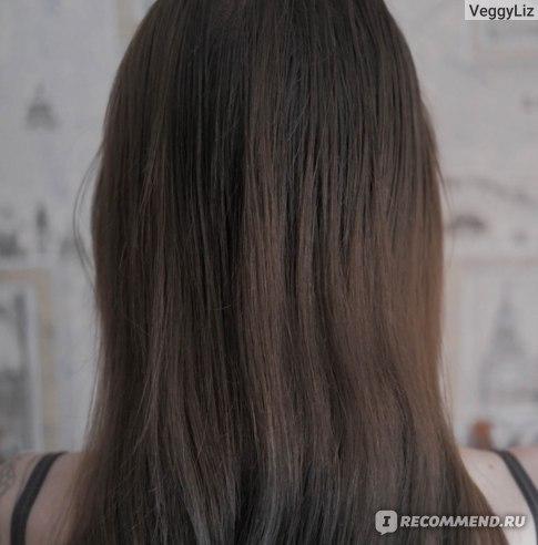 """Волосы после мытья шампунем """"Золото Марокко"""""""