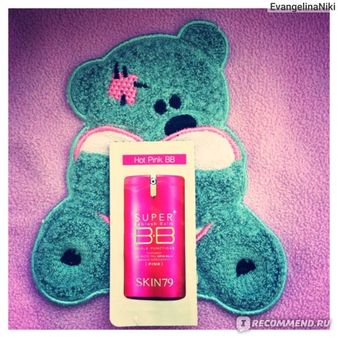 ВВ крем SKIN79 Hot Pink Super Plus Beblesh Balm SPF25 фото