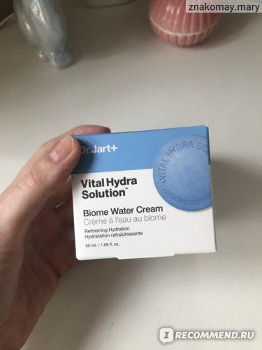 Крем для лица Dr Jart+ Vital Hydra Solution Biome Water Cream фото