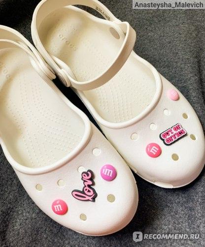 Джибитсы Aliexpress Simulation M Chocolate Beans Shoe Charms Decoration Realistic Rainbow Sugar Shoe Accessories fit croc jibz Kids Party X-mas Gift
