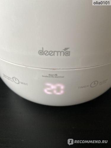 Ультразвуковой увлажнитель воздуха Xiaomi Deerma DEM F-600 фото