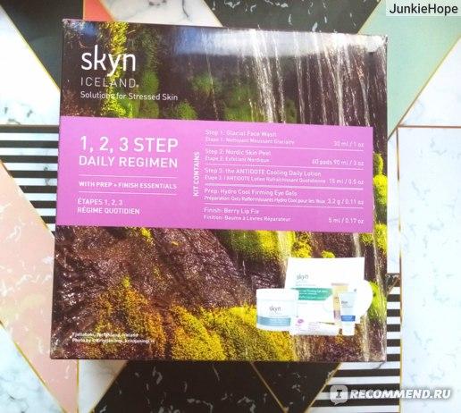"набор Skyn Iceland ""1, 2, 3 step Daily Regimen"""