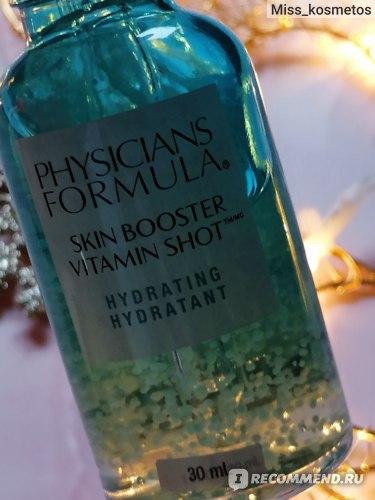 Сыворотка для лица Physicians Formula SKIN BOOSTER VITAMIN SHOT витаминная увлажняющая фото