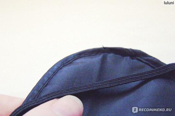 Повязка для сна Buyincoins Eye Mask Cover Shade Blindfold Sleeping Travel Black фото