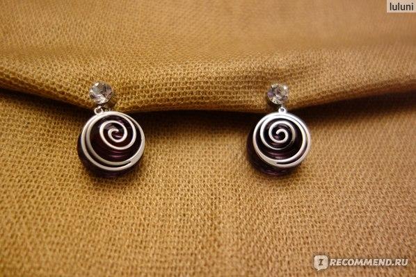 Серьги Aliexpress Free Shipping Neoglory Purple Crystal Rhinestone Drop Earrings For Female Stylish Jewelry Sale Brand Gifts фото