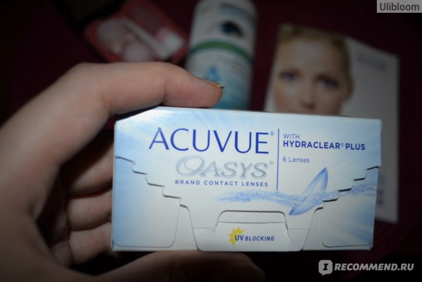 Контактные линзы Johnson & Johnson Acuvue Oasys with Hydraclear Plus фото