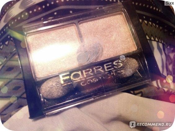 Тени для век Farres cosmetics (Дуэт) фото