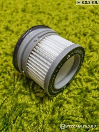 HEPA фильтр в корпусе пылесоса