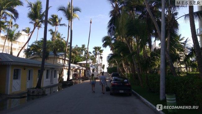 Торговая улочка на пути к пляжу