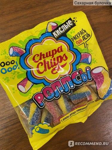 Жевательный мармелад Chupa Chups sour belts (mini) фото