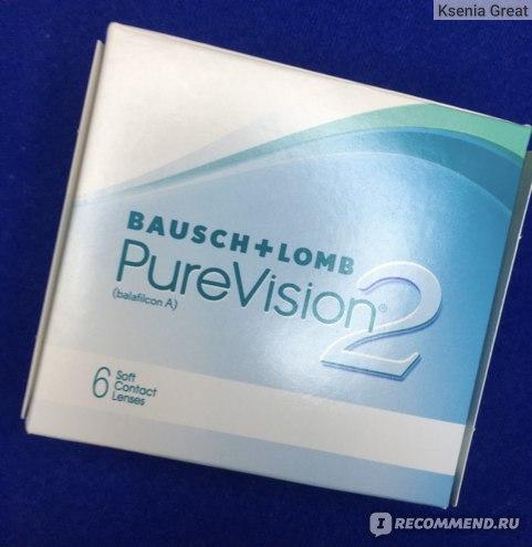 Контактные линзы Bausch&Lomb Pure Vision 2- фото