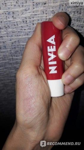 """Бальзам для губ NIVEA """"Фруктовое сияние"""" Вишня фото"""