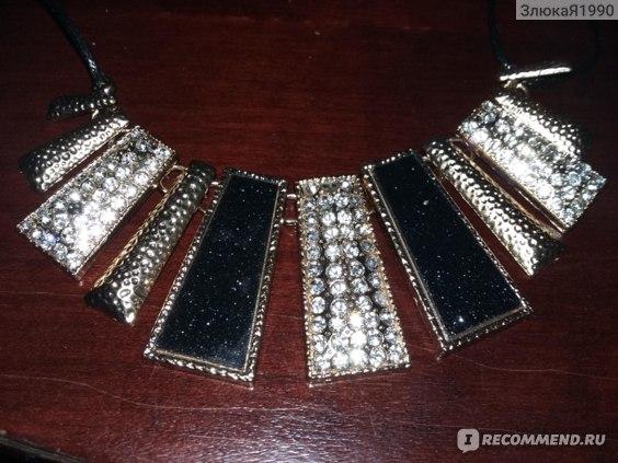 Колье Aliexpress 1pcs New Arrive Noble Lady Fashion Tube Crystal Enamel Alloy Choker Chain Bib Necklace Gift Party Jewelry K8167 фото
