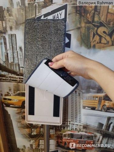 Швабра с отжимом Housework Cleaning expert Screach Cleaning Mop фото