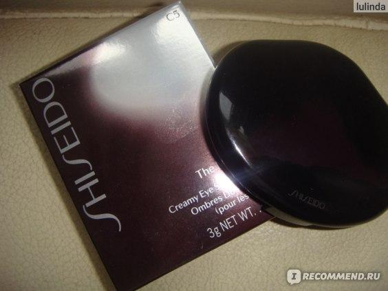 Крем-тени для век Shiseido  the makeup creamy eye shadow duo фото