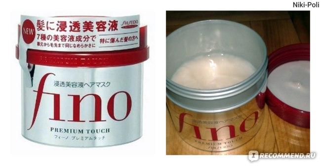 Маска для волос Shiseido FINO Premium Touch с маточным молочком пчел питательная фото