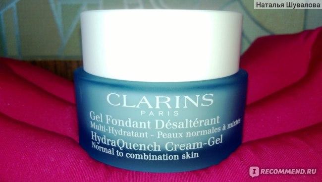 Крем для лица Clarins Multi-Hydratante увлажняющий крем-гель для нормальной и комбинированной кожи фото