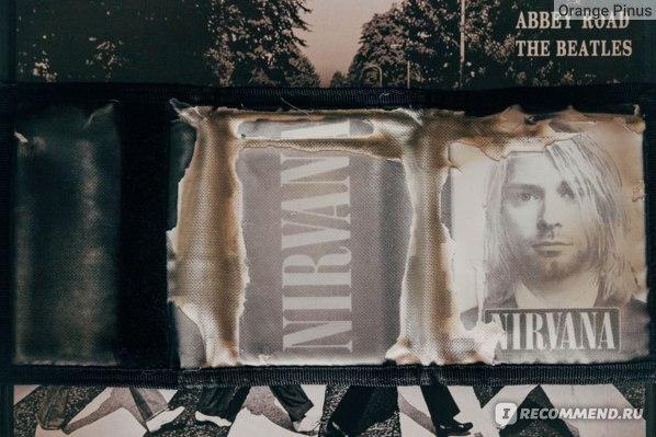 Мужской кошелек Rock-shop Nirvana фото