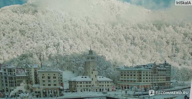 Так выглядит курорт зимой