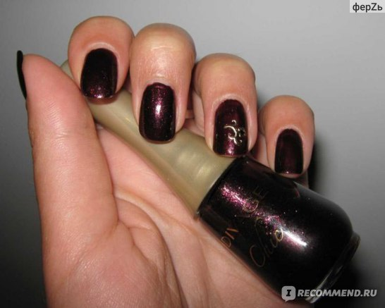 Лак для ногтей DIVAGE Chic фото