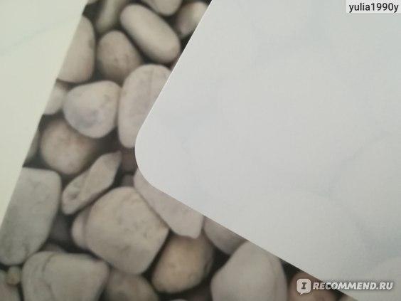 Сервировочная салфетка Пластмаркет Камни ПВХ 26х41 см фото