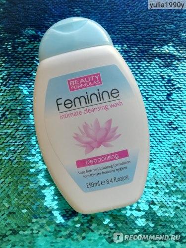 Гель для интимной гигиены Beauty Formulas Feminine фото