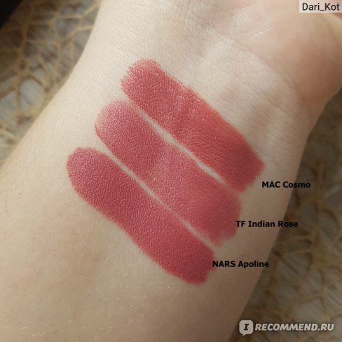 Губная помада Tom Ford  Lip Color Rouge A Levres  фото