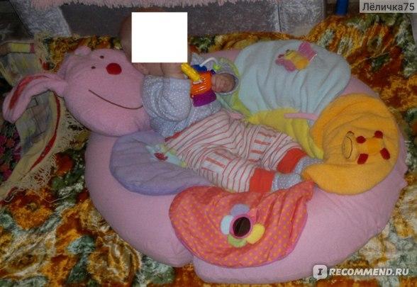 Коврик развивающий ELC для детей от 0-12 фото